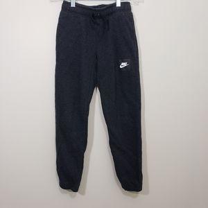 Nike heather black joggers sweatpants with pockets